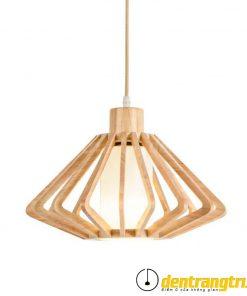 Đèn Thả Wooden Latern - DT00110