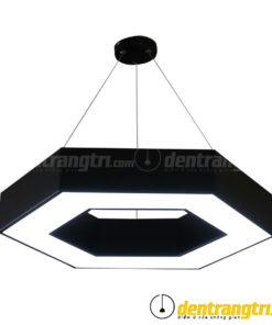 Đèn Thả Lục Giác Hắc Bạch - DT00093