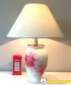 Đèn Bình Xoan Hoa Đỏ - DGAK014