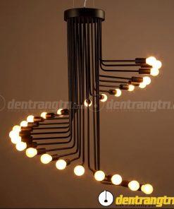 Đèn Ốp Trần Xoắn Dọc - DOT00076.26