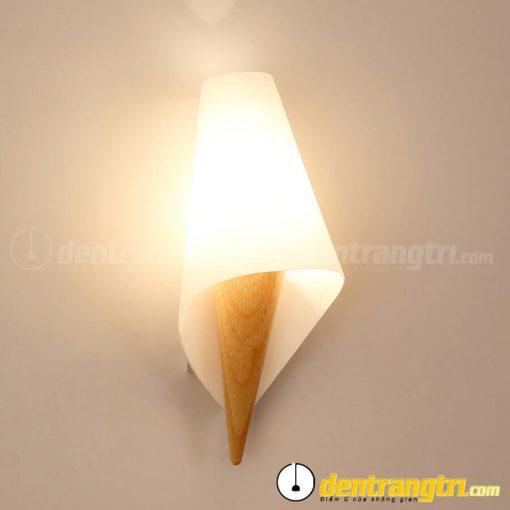Đèn Vách Chim Đuôi Gỗ Cách Điệu - DV00159