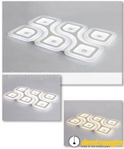 Đèn Ốp Trần Chữ Nhật Cách Điệu - DOT00018.6