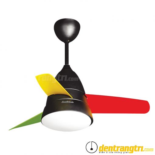 Đèn Quạt 3 Cánh Colorful - 36WE-DC6025