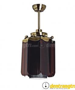 Đèn Quạt Cánh Dơi Nâu Đậm - 42WE-0056