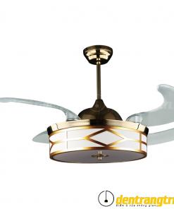 Đèn Quạt Mạ Đồng Vàng - 44WE-6012
