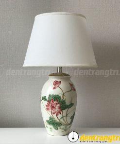 Đèn Bình Xoan Sen Đỏ - DGAK004