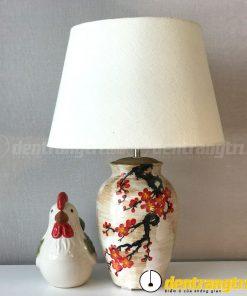Đèn Bình Xoan Hoa Đào - DGAK005