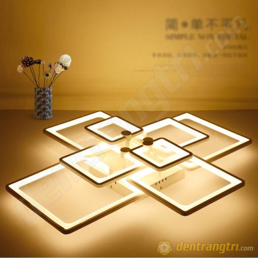 Đèn Ốp Trần Cánh Vuông Cách Điệu - DOT00049