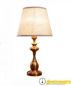 Đèn Bàn Đế Đồng Cổ Điển - DB0020