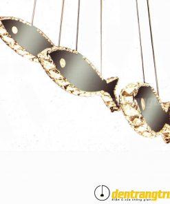 Đèn Thả Pha Lê 3 Con Cá - DTVK 2632