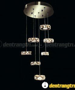 Đèn Thả Pha Lê 7 Vòng Nhỏ - DT00085